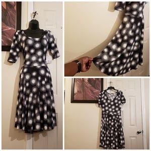 Lularoe Nicole Fit/FLare Dress